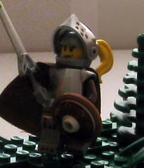 Noisy Knight (mahjqa) Tags: tree castle lego grim helmet technic sword knight spartan moc