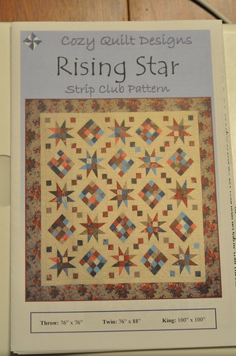 Rising Star Quilt Club pattern