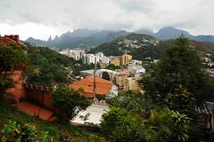 Ausblick auf Teresópolis vom Hostel aus