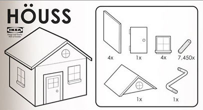 Le Ikea Blume what if ikea made for houses dsgn mode beta