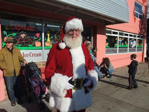 Santa in Ridgefield WA