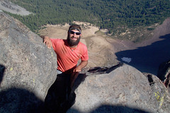 Jewel Thief Summitting Mount Thielsen