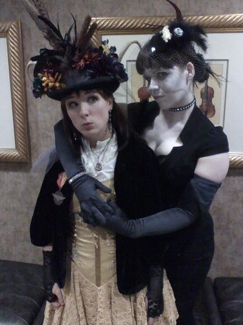 Bunny Greene and Dr. Mercury at Dorians Parlor