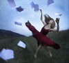 A Beautiful Release (Leah Johnston) Tags: wind fineart blowing hike malibu papers twirl reddress blurb myfeetweresofreakingcoldicouldntwalkafterthis iwishthefacewassharper poeticportraits