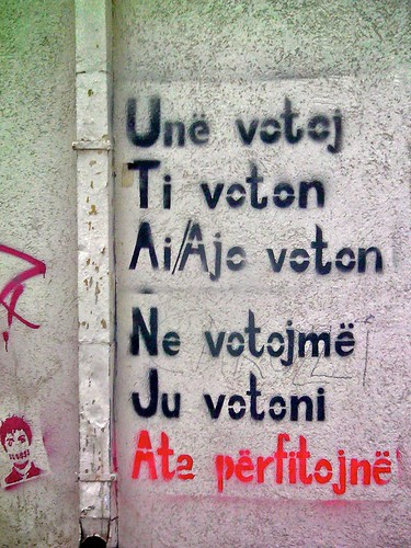 Grammar lesson, Priština by tm-tm, on Flickr