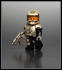 ARES: Galactic Trooper (Geoshift) Tags: lego customminifig legocustomminifig amazingarmory unitedarmory