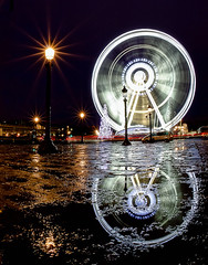 Grande roue - Place de la Concorde (Christophe Bailleux Photography) Tags: world voyage trip travel light vacation holiday paris france reflection tourism monument water beautiful night canon wonderful photography reflecting photo nice fantastic perfect eau europe foto tour place shot image lumire awesome sightseeing eu visit location tourist best fisheye reflet reflect photograph journey concorde stunning destination sight traveling lovely visiting exploration incredible nuit touring breathtaking westerneurope visite placedelaconcorde tourisme granderoue photographe touriste exposurefusion canon550d