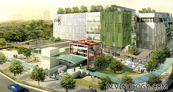 NEX @ Serangoon Central (picture via NEX's official website)