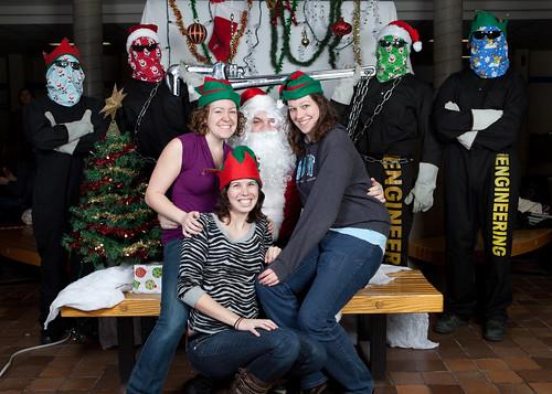 Santa and the Tool 2010