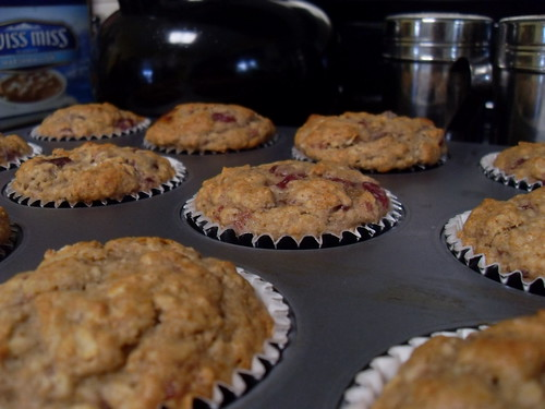 Morning-After Cranberry Sauce Muffins