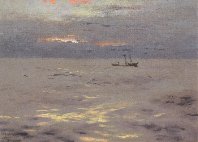 Atlantic Sunset, John Singer Sargent, c.1876
