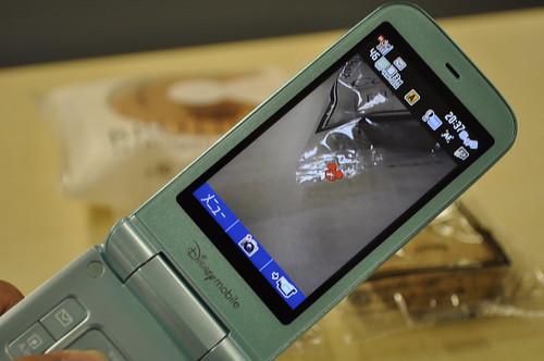 ディズニー モバイル カメラ