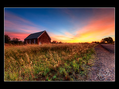 Church - Wallendbeen NSW (sachman75) Tags: road church sunrise dawn town village country farming australia nsw hdr firstlight riverina 1740mmf4 leefilters wallendbeen cootamundrashire 5dmark2 canon5dmarkii ndgrad3stop