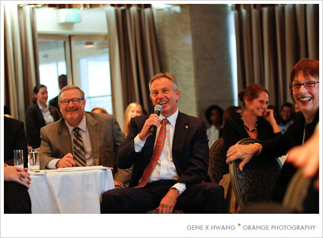 An Evening with Tony Blair by orange photography