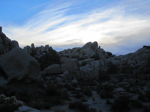 hidden valley - joshua tree
