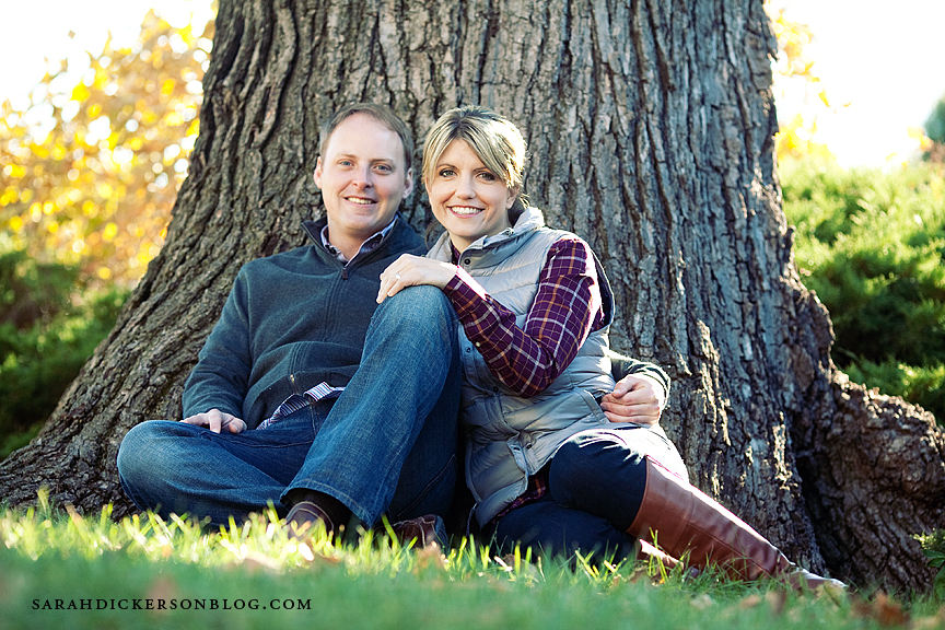 Lawrence Kansas engagement photos