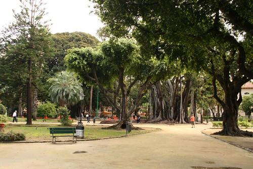 Palermo, Piazza Marina, Giardino Garibaldi