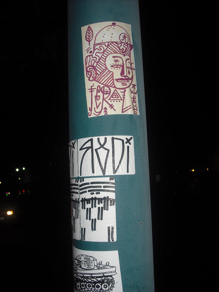 FERAL, RODI sticker - Emeryville, Ca