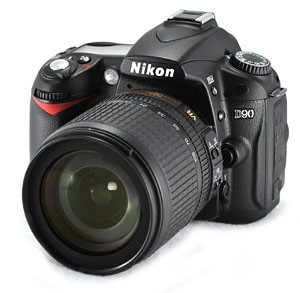 My dream DSLR - Nikon D90 - blankPixels.com