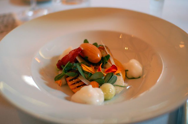 1st Course - Heirloom Tomato Salad