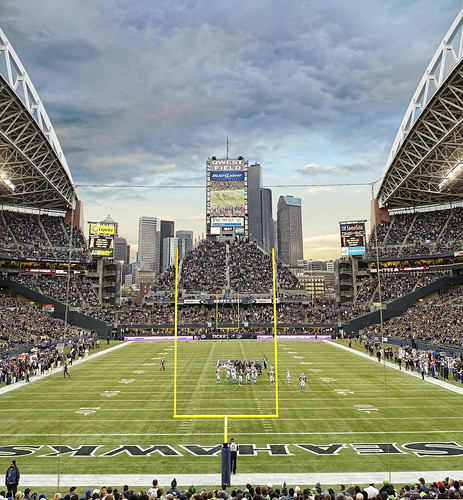 Seattle Seahawks at Qwest Field