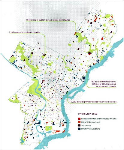 neighborhood park opportunity areas (by: City of Philadelphia, Green2015)