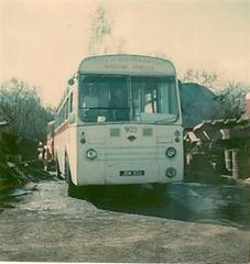 Guy Arab UF (PD3.) Tags: park uk bus guy buses yard transport royal hampshire corporation arab southampton scrap uf psv pcv 928 jow 903 hants 255 municiple englant jow928