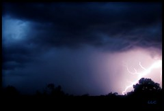 Strike (mountainbeliever) Tags: nature weather clouds skies lightning storms fourcorners lightningstrike nightstorm electricalstorms coloradostorms