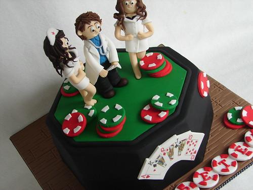 Surgeon Poker cake