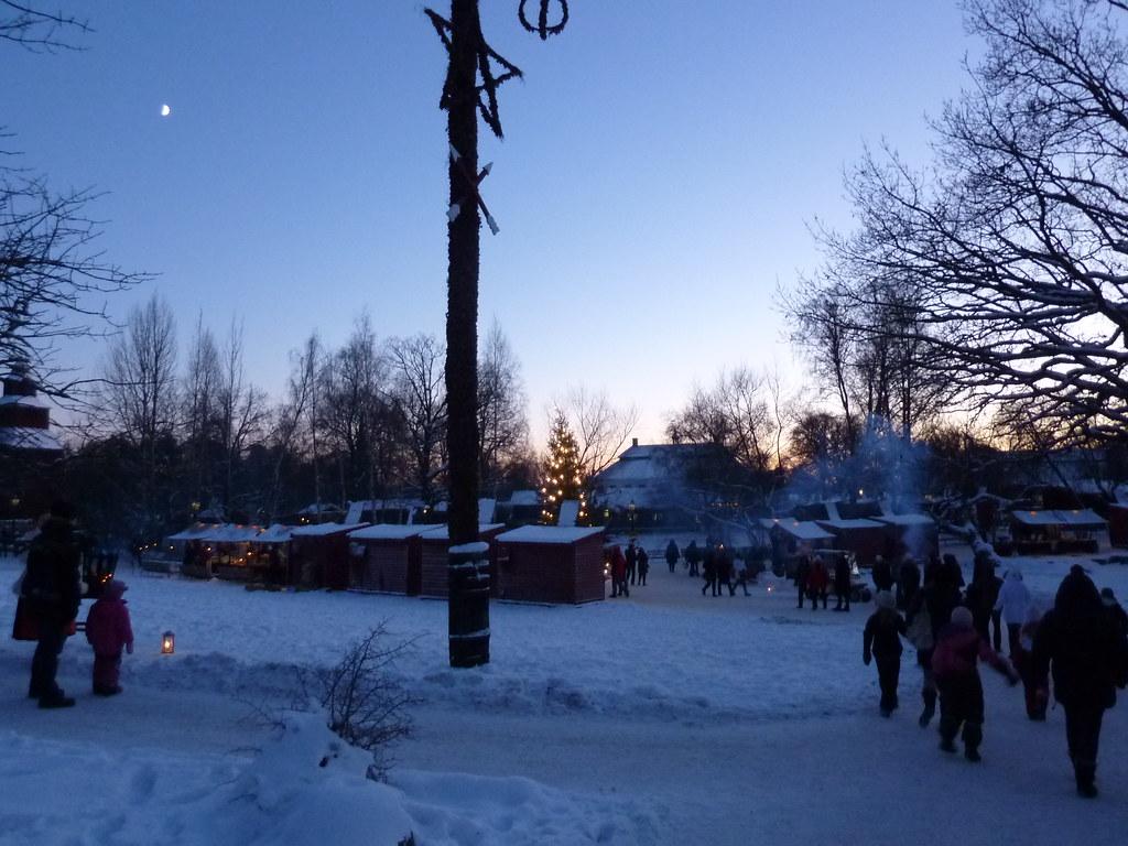 Skansen Christmas market