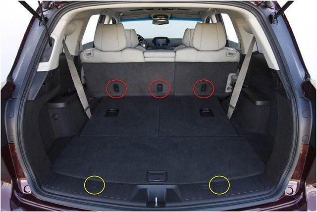 Will Acura Mdx Fit  Infant Car Seats