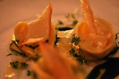 Parsnip root tortellini