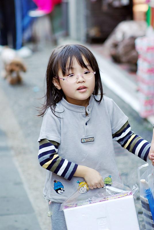 老街,小孩@大溪