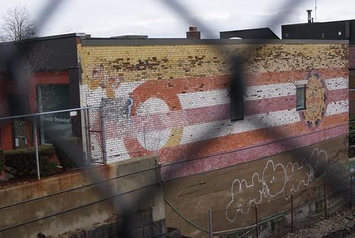 Auburndale, MA, mural #2