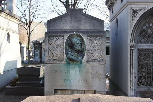 セザール・フランクの墓 César Franck