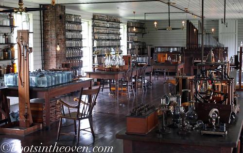 Thomas Edison's Laboratory!