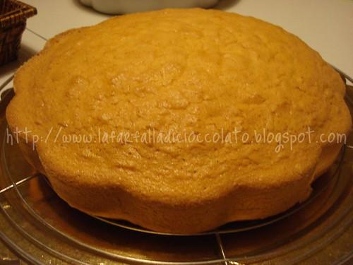Torta Margherita con crema al limone
