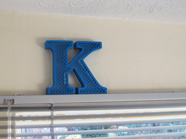 urban outfitters letter k