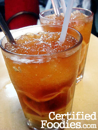 Wai Ying's Lemon Tea - Php 50 - CertifiedFoodies.com