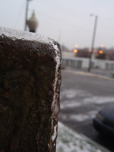 half inch of ice