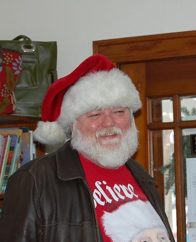 Santa at Yarn Cravin'!