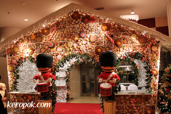 he Atrium Deli Christmas Gingerbread House Shop