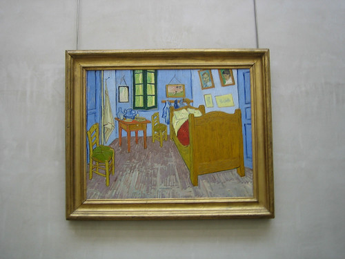 Van Gogh' Bedroom in Arles, 1889, Van Gogh, Musée d'Orsay, June 2008