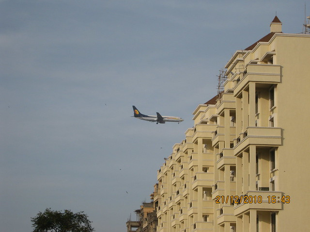 """Catch that plane"" - Nandan Euphora  2 BHK & 3 BHK Flats at Dasharath Nagar, Airport Road, Vishrantwadi, Pune 411 015"