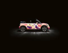MINI (Kliment*) Tags: pink art car design sweet girly wrap mini cabrio kliment klimentkalchev