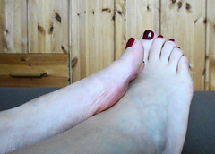 Heike`s toes (Darko83) Tags: feet female toes mature milf toenails sexyfeet maturefeet