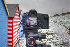 Is that my Image or Yours? (Explored) (Kevin HARWIN) Tags: sea water canon bay kent south sigma east huts 5d herne digitalcameraclub 550d