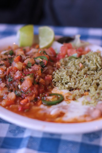 Palapa - fish with rice and beans