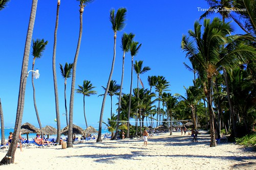Beach Volleyball in Punta Cana, Dominican Republic