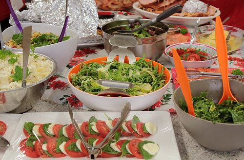 Christmas 2010 - selection of food
